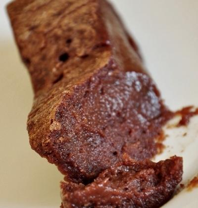 Fondant crème de marrons et chocolat, sans farine - Photo par mathildee