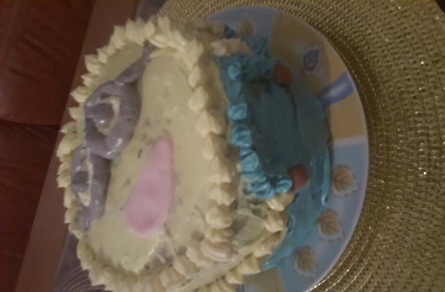 Gâteau à la crème au beurre - Photo par corinnadM