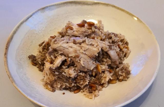 Riz au poulet à la libanaise - Photo par Dianadim