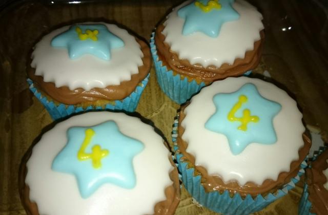 Cupcakes noisettes avec buttercream nutella - Photo par marinaUz