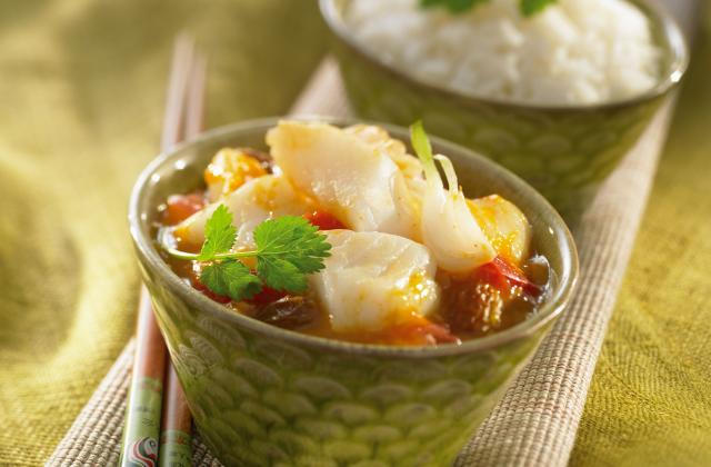 Curry de daurade - Photo par Suzi Wan