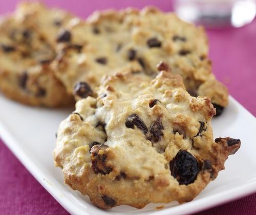 Palets aux flocons d'avoine, raisins secs et pépites de chocolat - Photo par Pure Via