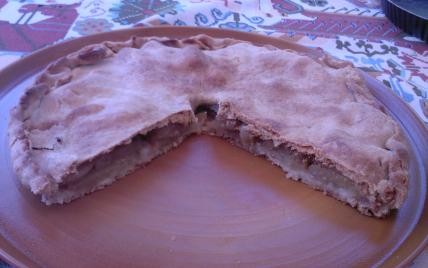 Tarte aux pommes savoureuse - Photo par bazilo