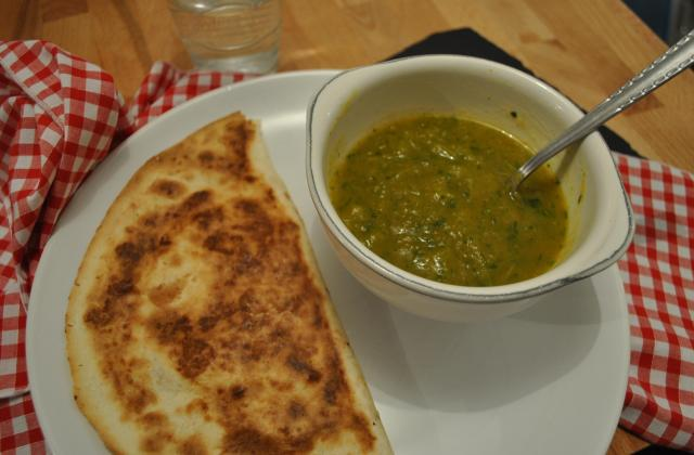 Soupe à la courge Butternut, poireau et celeri en branche - Photo par AlineCook&Co