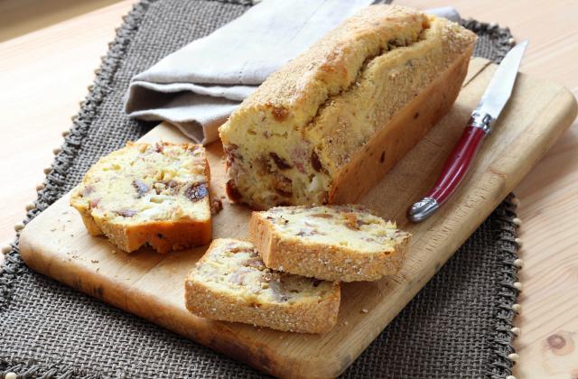 Cake salé chèvre figue et jambon - Photo par Silvia Santucci