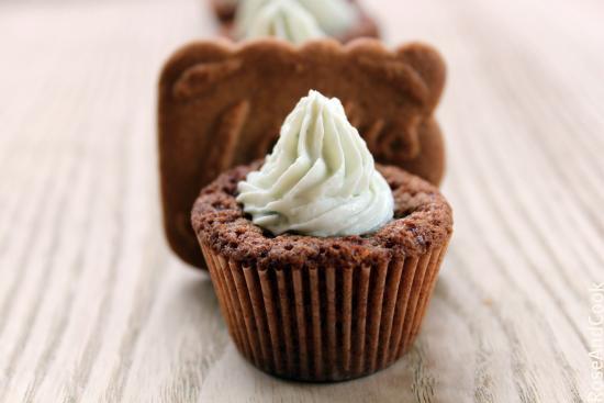 Cupcake spéculos-roquefort - Photo par rose and cook