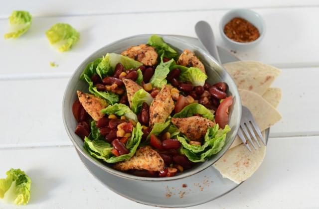 Salade mexicaine au poulet - Photo par Nadia Paprikas