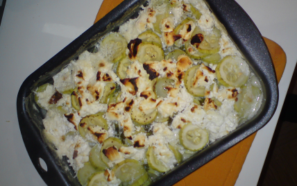 Gratin de courgettes au chèvre - Photo par katiai