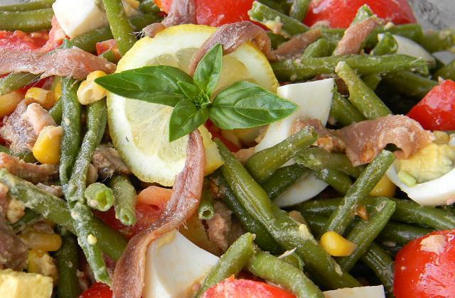 Salade de haricots verts estivale - Photo par La soupe à la citrouille