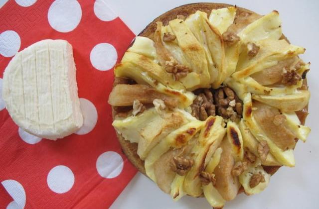 tarte poire, pomme, noix et Saint-Marcellin - Photo par eloala