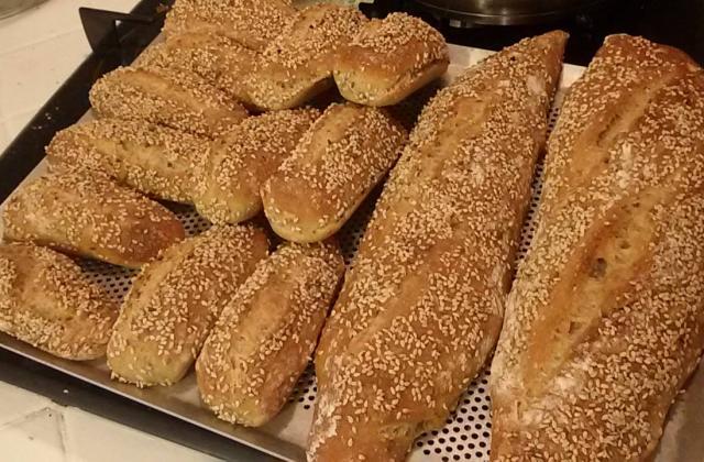 Baguette et pain de tradition - Photo par 750g