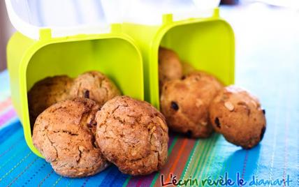 Cookies à la canneberge et aux noix du Brésil - Photo par Sophie-Diamant