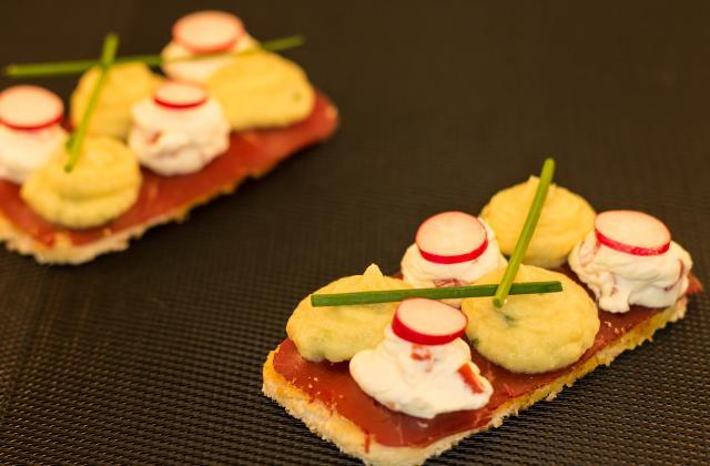 Toast artichaut saint môret - Photo par christophe thermostat7.fr