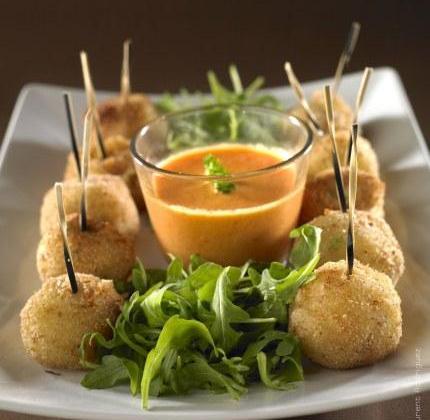 Croquettes de pommes de terre au fromage à raclette - Photo par Quiveutdufromage.com
