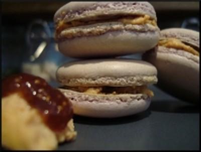 Macarons foie gras et figues - Photo par pouicp