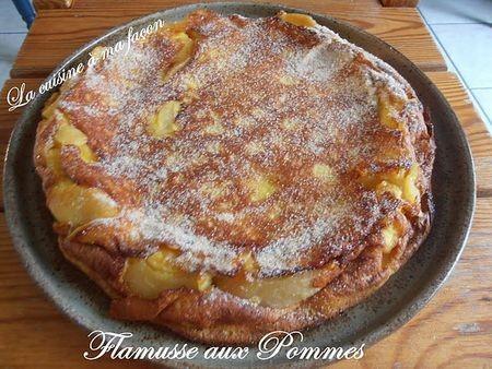 Flamusse aux pommes originale - Photo par nadège18