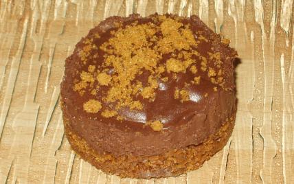 Desserts choco-spéculoos - Photo par claudiachocolat