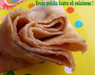 Pâte à crêpes croustillantes au parfum d'amande, sans lait ni oeuf - Photo par Tiuscha-blog Saveur Passion