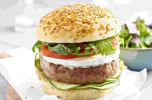 Hamburger de veau et ses légumes du soleil - Photo par Charal