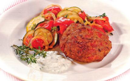 """Boulettes de viande au poivrons, sauce """"fromagère"""" - Photo par PSCHMITT"""