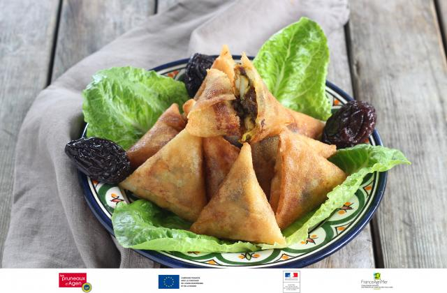 Briouates au poulet et aux pruneaux d'Agen - Photo par Silvia Santucci