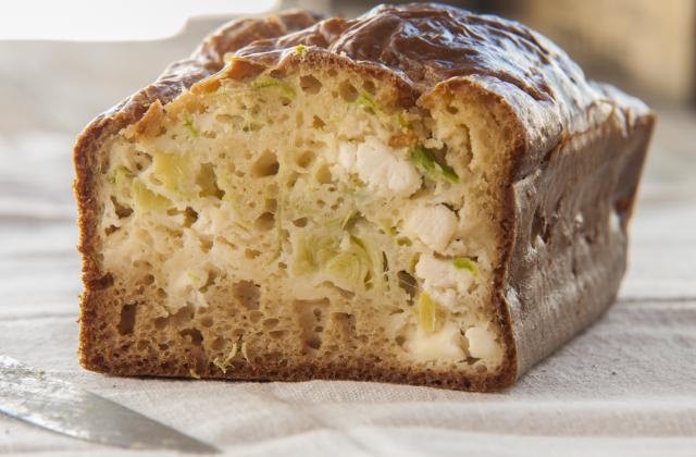 Cake au saumon et aux poireaux - Photo par 750g