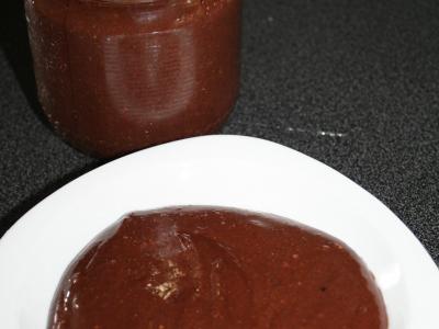 Pâte à tartiner aux noisettes et à l'huile d'argan - Photo par CARDAMOME