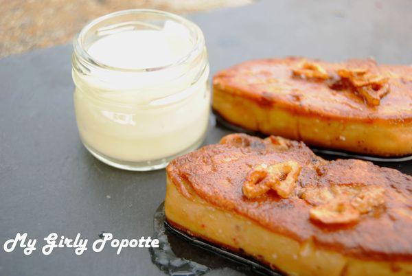 Foie frais au Floc de Gascogne et sauce à l'Ail de Lomagne - Photo par Alexandra Armanelli
