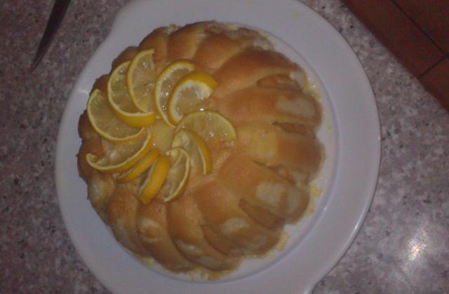 Charlotte au citron et au fromage blanc - Photo par Communauté 750g