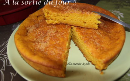 Gâteau au potiron - Photo par lamarml
