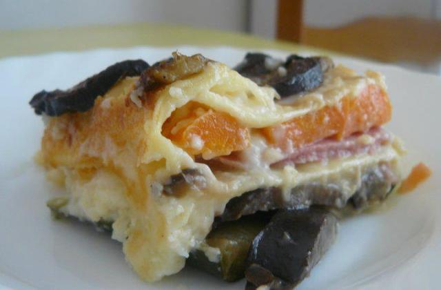 Lasagnes provençale au jambon - Photo par cicoucook