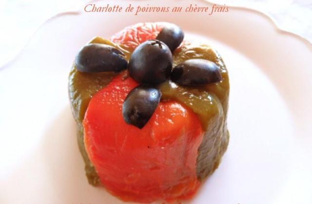 Charlotte de poivrons et chèvre frais - Photo par Carmen