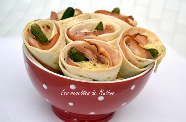 Cornets croustillants façon raclette - Photo par Invité