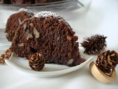 Gâteau au chocolat et aux noix économique - Photo par fimere2