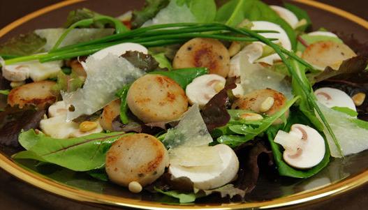 Salade de fête gourmande - Photo par gneboi