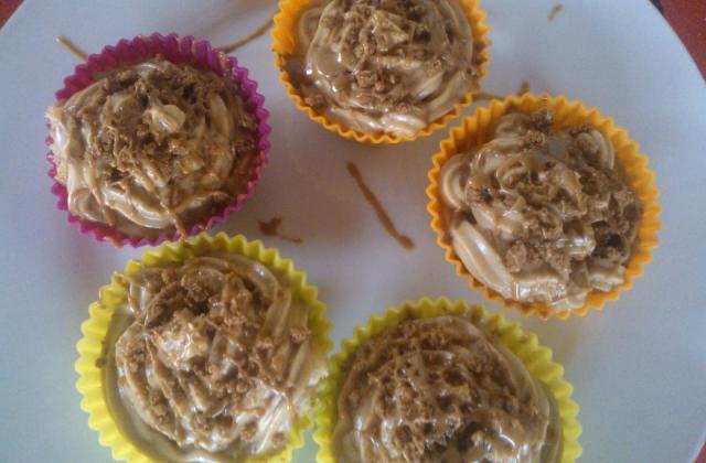 Cupcake banane spéculoos - Photo par jennifyx