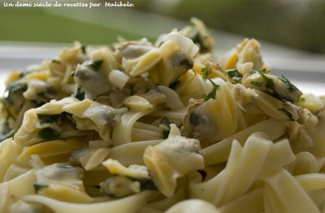 Pâtes à la Bulhau pato - Photo par malikele