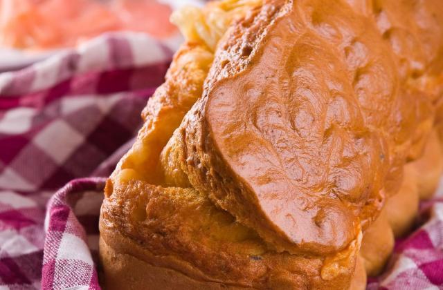 Cake moelleux au saumon et à l'Etorki - Photo par 750g