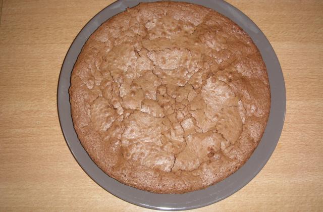 Tarte moelleuse au chocolat - Photo par Petit Pé