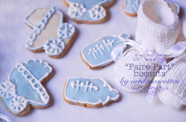 Faire-part Biscuits - Photo par elenadf