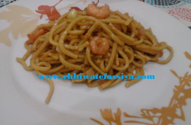 Nouilles de blé aux crevettes - Photo par Utilisateur 619587