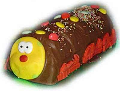 Gâteau chenille au chocolat - Photo par jeanmiR1
