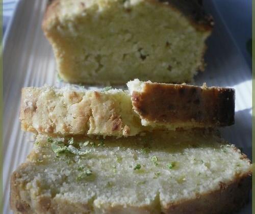 Cake au citron vert - Photo par CoCO la Cairotte