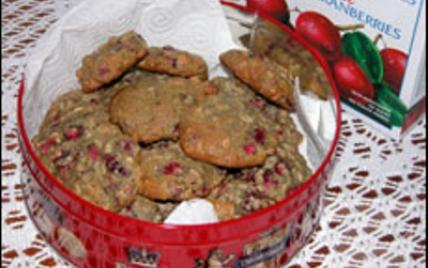 Biscuits aux canneberges / Cookies aux Cranberries - Photo par Maryl49