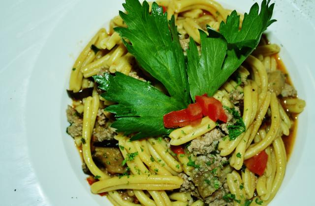 Fusilli à la sicilienne - Photo par belluc