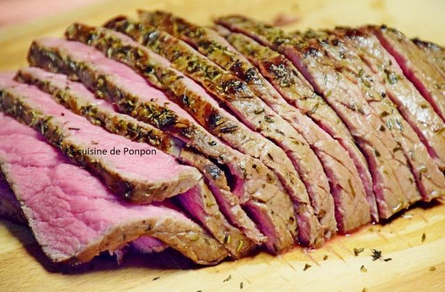 Rosbeef cuit à basse température - Photo par Ponpon