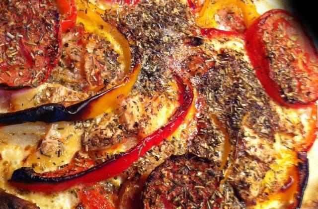 """Pizza """"la chèvre voit rouge"""" - Photo par wonderalice"""