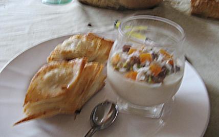 Crème de riz à la fleur d'oranger - Photo par loreli5