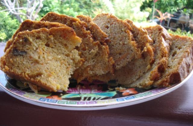Carot cake aux noix et à la cannelle - Photo par niniwong2004