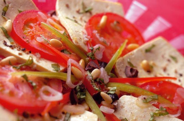 Carpaccio estival au tofu - Photo par Soy